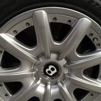 Curb Wheel Damage Jaguar XE After