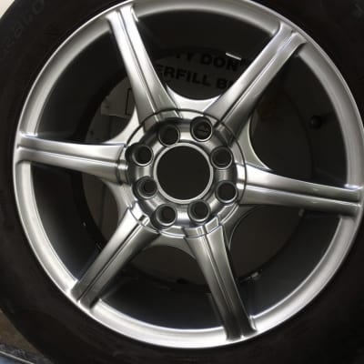 Subaru WRX Wheel Discolouration Repairs After